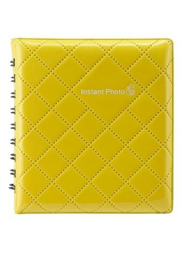 Fujifilm Instax Mini Sarı Kare Albüm Sarı